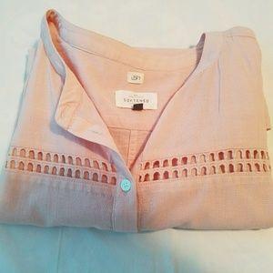 Peachy summer blouse
